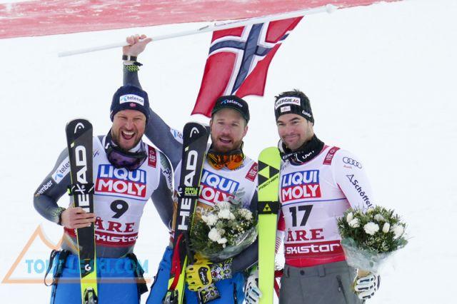 Mondiaux de ski alpin Are 2019 - Doublé norvégien