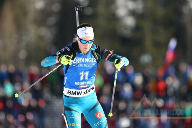 Biathlon au Grand Bornand - La première de Justine Braisaz