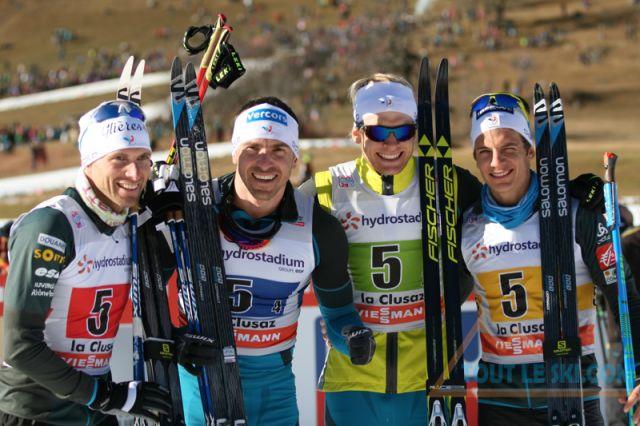 Coupe du monde de ski de fond la clusaz la france en bronze ski de fond - Coupe du jura ski de fond ...