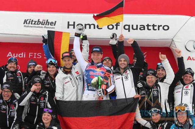 Ski Alpin - L'Allemand Thomas Dressen le plus fort sur la Streif