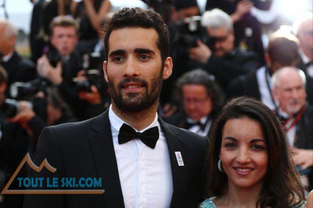 Paris 2024 - Martin Fourcade sur le tapis rouge au Festival du Film de Cannes