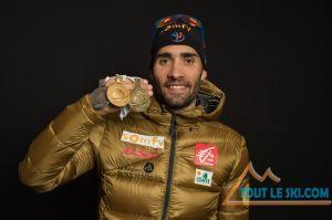 Biathlon à Hochfilzen - Martin Fourcade en or sur la poursuite