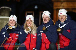 Ostersund - Mondiaux de biathlon - Premier jour 8e place pour les Français