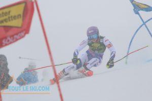 Ski alpin - Tessa Worley remporte le Slalom Géant d'ouverture à Sölden