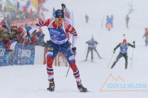 Coupe du monde au Grand Bornand - Victoire pour Boe Antonin Guigonnat 3e, Fourcade 2e
