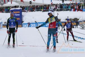 Martin Fourcade 3e de la poursuite - Pas trop fan de Johnny Hallyday mais...