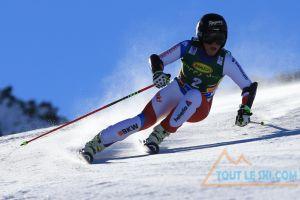 Slalom Géant de Sölden, Lara Gut en tête