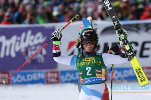 Lara Gut remporte le Géant de Sölden