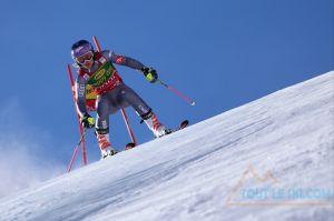 Solden - Tessa Worley prend la 2e place du Slalom Géant