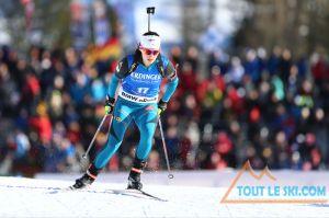 Mondiaux de Biathlon - Anais Chevalier prend le bronze du sprint